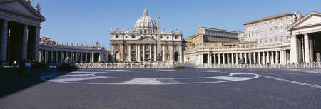 St Peters Square Rome Italy