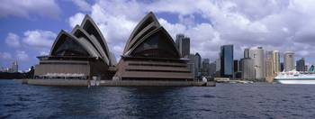 Opera house at the waterfront