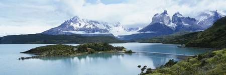 Lake Pehoe Torres del Paine National Park Patagon