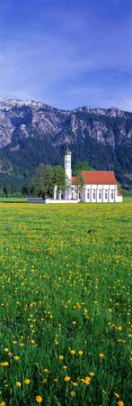 Country Church near Fossen Germany