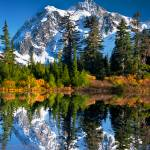 """Mt. Shuksan and Picture Lake"" by EdmundLowe"