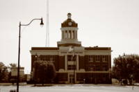 Route 66 - Beckham County Courthouse