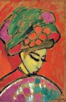 Alexei_Jawlensky_-_Young_Girl_with_a_Flowered_Hat,
