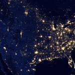 """City_Lights_of_the_United_States_2012"" by ArgosDesigns"