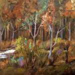 """Little Creek Down In The Woods"" by RuthPalmer"