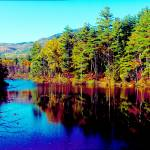 """""""White Mountians National Park red eagle pond"""" by TomJelen"""