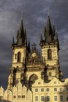 Church of Mother of God in front of Týn, Prague.