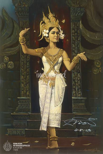 """Stunning """"Khmer"""" Painting Reproductions For Sale On Fine ..."""