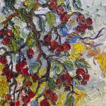"""Rosehips Botanical Modern Impressionism"" by GinetteCallaway"