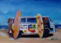 Surf Bus Series - The Lady Power Flower Bus