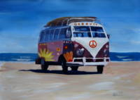 Surf Bus Series - The Groovy Peace Bus