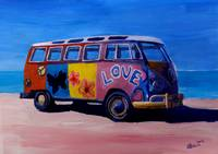 Surf Bus Series - The Love VW Surf Bus