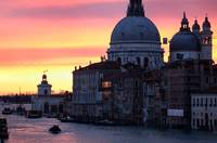 Canal Grande in Venice at Sunrise