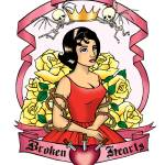 """Queen of Broken Hearts"" by Evilkid"