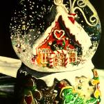 """Gingerbread Wonderland"" by carriewallerart"
