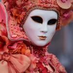 """Portrait of a lady wearing venetian mask and dress"" by emporoslight"