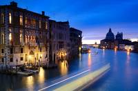 Canal Grande at sunrise