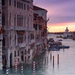 """Canal Grande at sunrise - Vertical photograph"" by emporoslight"