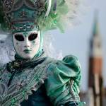 """A Lady wearing typical venetian dress and mask"" by emporoslight"