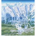 """Kicking Horse resort, British Columbia"" by jamesniehuesmaps"