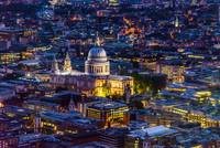 St. Paul's Cathedral from above