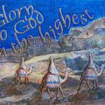 """Three Wise Men Travel To The Land Of Jesus"" by PjCreates"