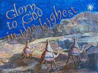 Three Wise Men Travel To The Land Of Jesus