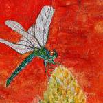 """Dragonfly Batik"" by BillieCrain"