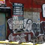 """Coney Island NY: Live Human Target"" by Evilkid"