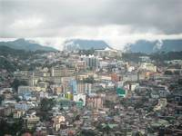 baguio city - central business district