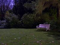 Bench at moonlight