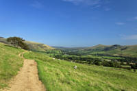 The Vale of Edale from the Pennine Way (34377-RDA)