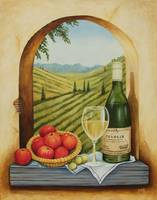 Tuscan Still Life with Apples
