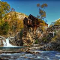 Crystal Mill Art Prints & Posters by Jim Westin