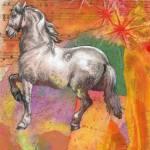"""Circus Horse"" by sidneysstudios"