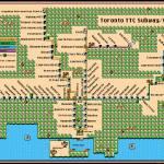 """Toronto TTC Subway/RT Map: Super Mario 3 Style"" by originaldave77"