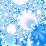"""Fractal Snowflakes Field"" by lotus_flower"