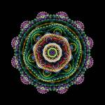 """Multilevel Round Fractal"" by lotus_flower"