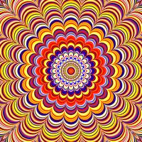 Colorful Optical Illusion