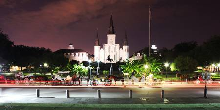 Saint Louis Cathedral Jackson Square New Orleans