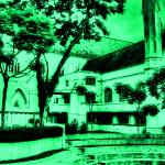"""Urban Landscape Singapore, St. Andrews Catheral"" by sghomedeco"