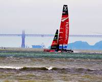 Emirates The Challenger America's Cup San Francisc