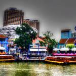 """""""Clark Quay Singapore"""" by sghomedeco"""