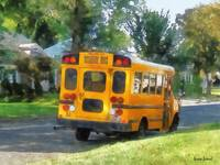 Parked School Bus