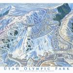 """Utah Olympic Park"" by jamesniehuesmaps"