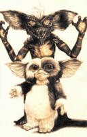 Gizmo and Spike from Gremlins