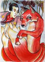 Prince and the Many Tailed Fox