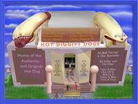 Hot Diggity Dogs with Digital Frame