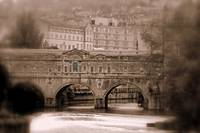 Pultney Bridge In Bath