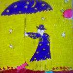 """womanand umbrella"" by TomerTal"